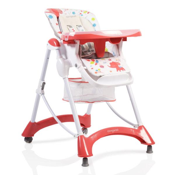 Cangaroo Стол за хранене Mint червен